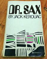 DR SAX  Faust Part Three By Jack Kerouac First Evergreen Edition Paperback 1959