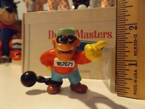 Vintage Toys Duck Tales Beagle Boy PVC Figure 1986 Disney Cake Topper Villain