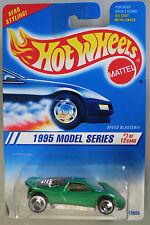 Hot Wheels 1:64 Scale 1995 Series SPEED BLASTER (GREEN - 3 SPOKES)
