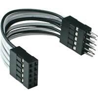 InLine® USB 2.0 Verlängerung, intern, 2x 5pol Pfostenstecker auf Pfostenbuchse,