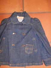 veste manteaux   en jeans fille  8 ans okaidi