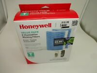 2 Genuine Honeywell Humidifier Wicking Filters T Protec Antimicrobial HFT600 New