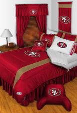 San Francisco 49ers NFL Sidelines Comforter Full/Queen