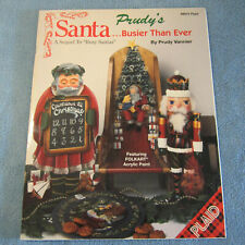 "Prudy Vannier ""Santa... Busier Than Ever"" Decorative Tole Painting Book"