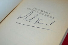 Doctor Who: DEATH TO THE DALEKS Target Book Signed by Michael E Briant