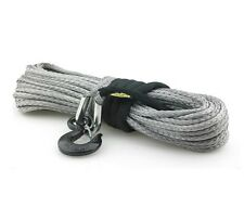 Synthetic Winch Rope, 8000 lb w/Hook & Sleeve