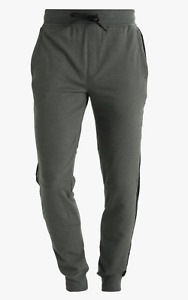 Under Armour Men's Artillery Green UA Microthread Terry Fitted Jogger Pants
