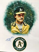 Tony Larussa Signed 8x10 Photo Autographed Oakland A's Baseball Manager