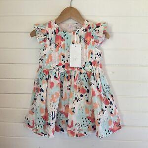 Bebe By Minihaha Dress - BNWT / NWT - Size 1 year / 9-12 months