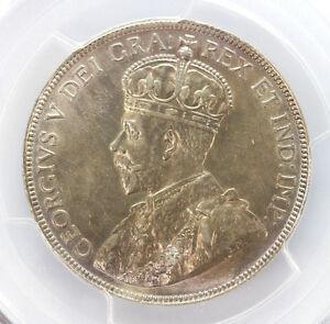 1919 Canada Silver Half Dollar George V-AU Details Genuine Cleaning 90261h