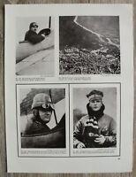 Blatt 1914-18 Aviatik Flieger Leutnant Helmuth Hirth Oberl. Ihm Leutn. Hiddesen