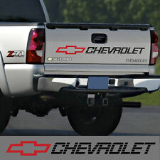 Chevrolet tailgate decal sticker silverado z71 lt ls 1500 2500 chevy B/R