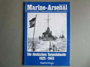 Marine-Arsenal Bd.39 Die deutschen Torpedoboote 1925-1945