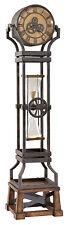 Howard Miller 615-074 (615074) Hourglass Floor Clock - Aged Iron