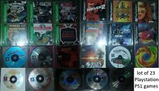 Lot of 23 PLAYSTATION 1 PS1 Games Mega Man Legends Oddworld Abes Exodus GTA2 +++