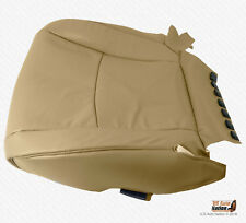 2003 - 2007 Toyota Highlander DRIVER Bottom Seat Cover PERFORATED LEATHER TAN