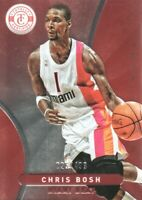 2012-13 Totally Certified Basketball Red #30 Chris Bosh /499 Miami Heat