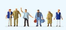 """Preiser 14046 HO Figuras """"Misión en la estación, Pasajeros"""" #nuevo emb. orig.##"""