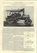 1915 Oil Propelled Road Roller Fowler Leeds French Winter Trains