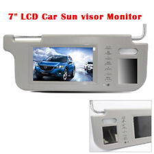 7 inch Grey Car Sunvisor Rear View Mirror Screen Lcd Monitor DVD/VCD/GPS/TV