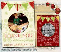 Pack of 10 Christmas Cards /& Envelopes ~ 14x14 cm ~ Foil Snowtime Santa