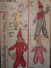 1960's Bubbles, Happy, Bobo, Jingles Clown Pattern size Medium 8-10