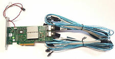 Dell PERC PowerEdge RAID Controller H310 6Gbs +2x Amphenol MiniSAS 4x SATA Kabel