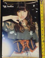 """*New* Luna Haruna Windia Promo Poster 42cm x 30 cm (approx 16.5"""" x 12"""")"""