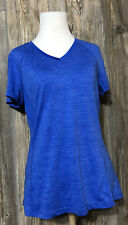 DANSKIN NOW SEMI-FITTED DRI-MORE POLYESTER PULLOVER TOP  SIZE M (8-10)