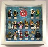 Display Case Picture Frame for Lego Series 17 minifigures no figures