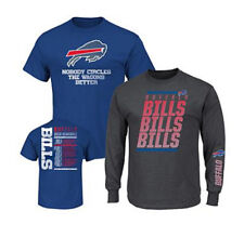 NFL 3-in-1 3 Looks in 1 Tee Shirt Combo Buffalo BILLS ~Large