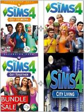 The Sims 4 Get To Work + Get Together + City Living DLC BUNDLE & BONUS (Pc/Mac)