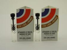 2 x Etat Libre D'Orange ATTAQUER LE SOLEIL EDP Vial Sample 1.5ml 0.05 fl oz