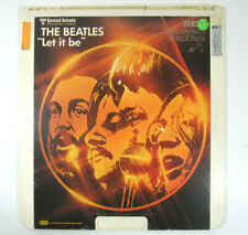THE BEATLES - LET IT BE  (1981, CED VIDEODISC) TESTED