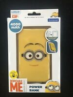 DESPICABLE ME Lexibook Power Bank 4000 mAh with Suction Cups & Micro USB Cable