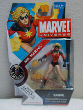 MS. MARVEL 3.75 NIB Marvel Universe Carol Danvers Captain Marvel action figure