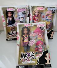 Moxie Girls Girlz Set Lot of 3 I AM Strong, Love, Smart Avery Lexa Sophina