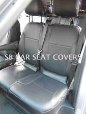 TO FIT A RENAULT TRAFIC CREW CAB DIESEL, 6 SEATER - PERFORATED PVC LEATHERETTE