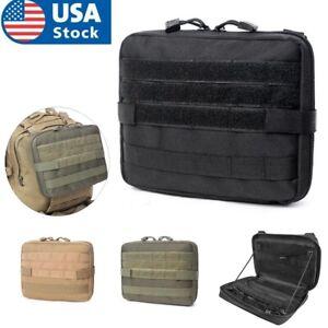 Tactical Molle Pouch Bag Medical EDC EMT Pouch Military Utility Gadget Gear Bag