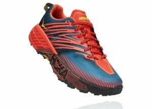 Hoka Mens Speedgoat 4 Trail Running Shoes - Breathable, Additional Support