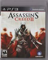 Assassin's Creed II (PS3, Sony PlayStation 3, 2009) - VG