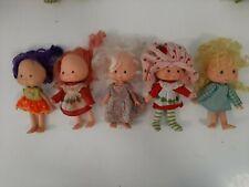 Vintage 1979 Lot of 5 Strawberry Shortcake Dolls - Lot 4