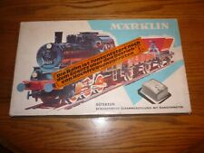 Marklin Vintage Circa Early 1960s HO Starter Set, German Transformer