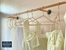 Copper Pipe Cast Iron Clothes Rails -  Industrial / Rustic - Wall Mounted Rails