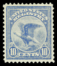 Scott F1 1911 10c Registration Stamp Mint VF OG LH Cat $75