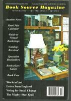 Book Source Magazine September/October 2008 Samuel Eliot Morrison/Auctions