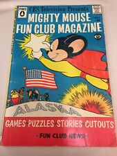 Mighty Mouse Fun Club Magazine Comic Book No. 6 CBS Television