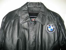 New BMW LEATHER JACKET Black Size Medium