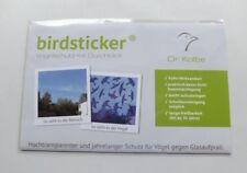 Birdsticker 5 Stk. UV Aufkleber Vogelschlag Vogelschutzaufkleber fast unsichtbar