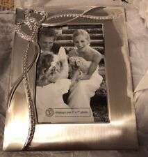 Things Remembered Intertwined Hearts 5x7 Picture Frame - Silver